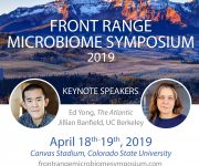 Join us for the Front Range Microbiome Symposium 2019 at CSU!