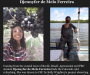 Djennyfer was featured in the CSU Soil and Crop Sciences Department newsletter! Fieldwork for her PhD project kicks off October 25 in Louisiana